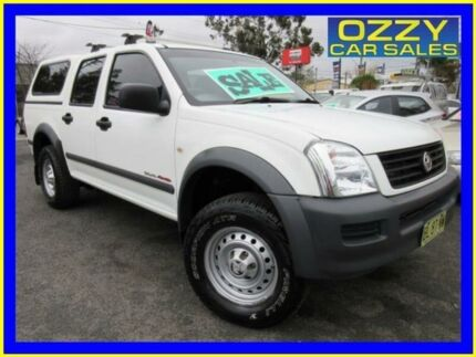 2006 Holden Rodeo RA MY06 Upgrade LX (4x4) White 5 Speed Manual Crew Cab Pickup Minto Campbelltown Area Preview