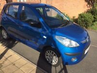 HYUNDAI i10 CLASSIC, £30 TAX, ONLY DONE 61000 MILES BARGAIN ONLY £1600