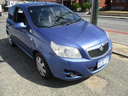 2008 Holden Barina Blue Manual Hatchback
