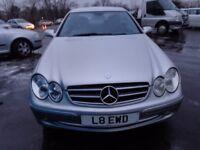 2003 mercedes clk 320 avantgarde auto mot 1 year h s h ex condition must be cheap £1695