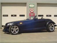 2001 Plymouth/Chrysler Prowler w/ ONLY 1,800 KM's