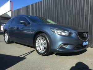 2012 Mazda 6 6C Touring Grey 6 Speed Automatic Wagon Phillip Woden Valley Preview