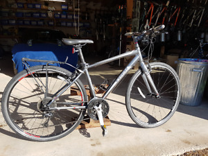 Trek 7.4fx fitness hybrid bicycle, good for roads or trails