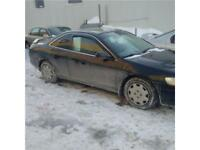 honda accord 1999 $750. taxe et transit inclus 514-793-0833