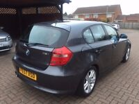 2007 BMW 1 Series 1.6 116i SE 5dr AC( Hpi Clear,Parking Sensor, 1 Year MoT, AUX,Dual Climate Ctrol,
