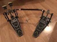 Tama Iron Cobra Left Footed Double Bass Drum Pedal With Case