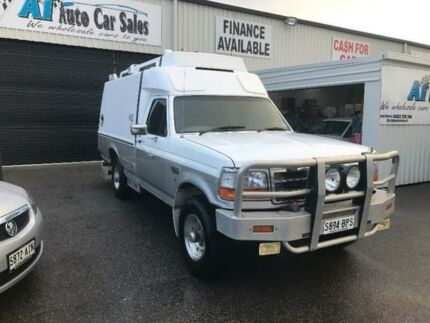1997 Ford F250 7.3 lt turbo diesel White Automatic Panel Van Port Adelaide Port Adelaide Area Preview