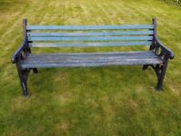 Heavy Duty Vintage Park Bench