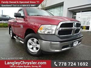 2013 RAM 1500 ST W/ 4X4, POWER WINDOWS/LOCKS & TOW PACKAGE