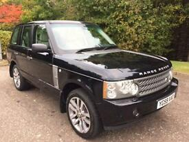 2009 59 LAND ROVER RANGE ROVER 3.6 TDV8 WESTMINSTER 5D AUTO 272 BHP DIESEL