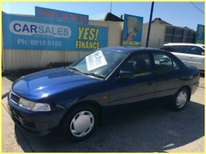 2002 Mitsubishi Lancer CE GLXi Blue 4 Speed Automatic Sedan