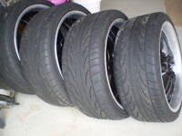 FK452 245/35ZR20 Tires and Boss 327 Rim Package