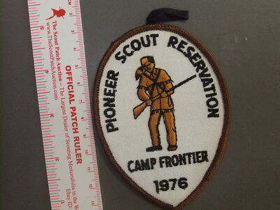 Boy Scout Camp Frontier OH 0820X](Frontier Boy)