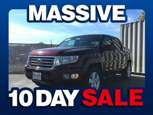 2013 Honda Ridgeline TOURING 4X4 ( MASSIVE 10 DAY SALE! )