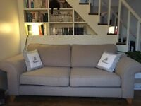 SOFA - 3 seats - beige - warm color - cosy living room