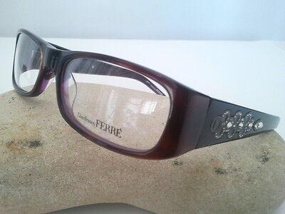 Gianfranco Ferrè Brillen und Kontaktlinsen Ansicht Stab Breitband Schmuckstück