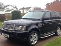 Land Rover Range Rover Sport 2.7 TDV6 HSE 5dr AUTOMATIC, LEATHER INTERIOR, PRIVATE PLATE