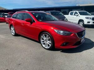 2013 Mazda 6 GJ1031 Atenza SKYACTIV-Drive Red 6 Speed Sports Automatic Wagon Bungalow Cairns City Preview