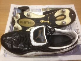 Puma King Excel size 7.5 Soft ground football boots