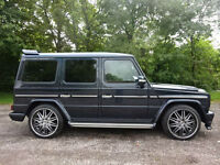 Mercedes-Benz G Wagon G500 Left hand Drive LHD BRABUS Bodystyling