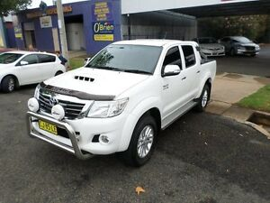 2013 Toyota Hilux KUN26R MY12 SR5 Double Cab 5 Speed Manual Utility Burrangong Young Area Preview