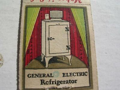 1930's General Electric Refrigerator