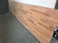 Beech SOLID Wood Block Kitchen Worktop - Brand New real wood !
