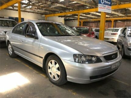 2005 Ford Falcon BA Mk II XT Silver Sports Automatic Sedan Hamilton North Newcastle Area Preview