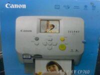 CANON SELPHY CP760 PRINTER