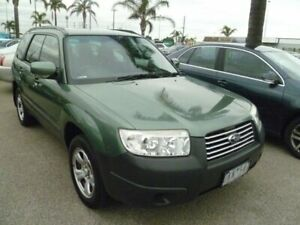 2006 Subaru Forester 79V MY06 X AWD Green 4 Speed Automatic Wagon Cheltenham Kingston Area Preview