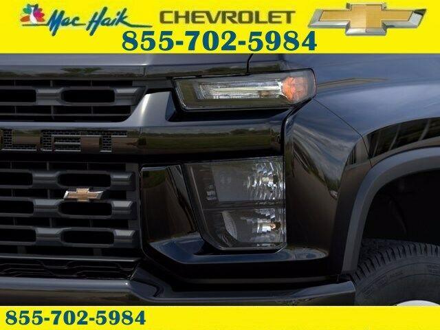 2021 chevrolet silverado 2500hd custom 15 miles black crew