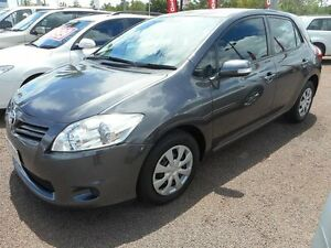 2010 Toyota Corolla ZRE152R MY10 Ascent Grey 4 Speed Automatic Hatchback Winnellie Darwin City Preview