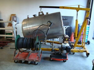 Concrete Sealing Equipment