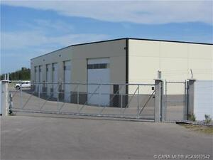 COMMERCIAL WAREHOUSE FOR SALE IN BLACKFALDS