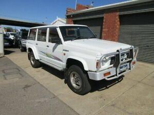 1992 Nissan Patrol TI (4x4) White 4 Speed Automatic 4x4 Wagon Gilles Plains Port Adelaide Area Preview