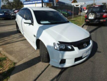2012 Holden Commodore VE II MY12.5 SV6 Z-Series White 6 Speed Automatic Sedan