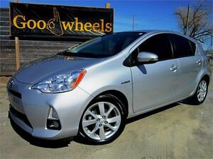2013 Toyota Prius C-SUNROOF-NAVIGATION-LEATHER-BLUETOOTH