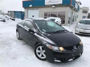 HONDA CIVIC COUPE 2009 / TOIT OUVRANT / MAGS / CRUISE / BAS KM!!