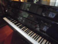 upright modern piano by osztriecher