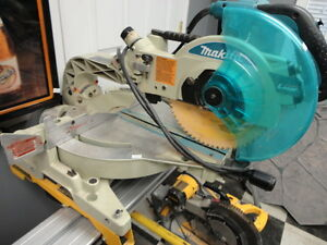 "Makita LS1016L 10"" Sliding Compound Mitre Saw With Stand"