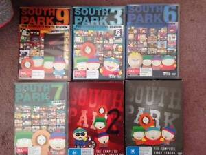 South Park DVD collection Dulwich Hill Marrickville Area Preview