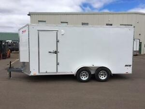 NEW 2018 PACE 7' x 16' JOURNEY ENCLOSED TRAILER