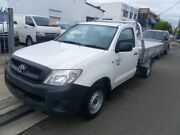 TOYOTA HILUX WORKMATE 2.7 CAB CHASSI MANUAL PETROL Lidcombe Auburn Area Preview