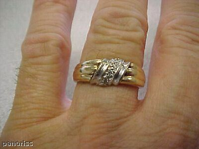 Antique 14k  Gents Diamond Ring Size 9-1/2  Make Offer