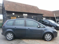 0606 FORD FOCUS C-MAX 2.0 GHIA AUTOMATIC 5 SEATS MPV 51K FSH 10 SRVS STAMPS FAB