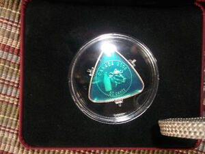 Royal Canadian 50 Cent 2008 Milk Triangle Coin Mint In Box.