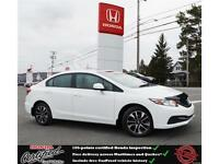 2013 Honda Civic EX, Backup Camera, Heated Seat, One Owner !!