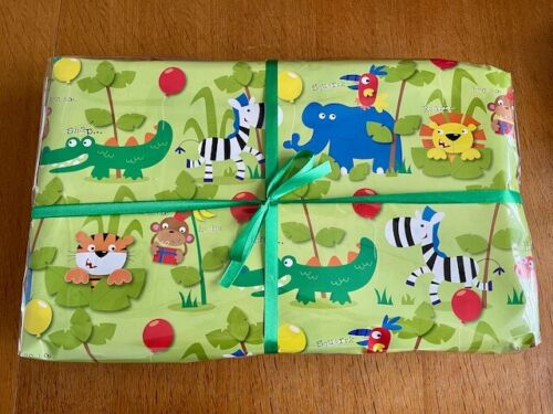 Animals Jungle Pass The Parcel - Animals Activity Pack (+ 9 Toys) Bn