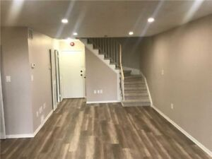 Bright Two Level Condo With Three Bedrooms, 2 Washrooms