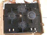 Hotpoint Luce GX641FGK Gas Hob - Black